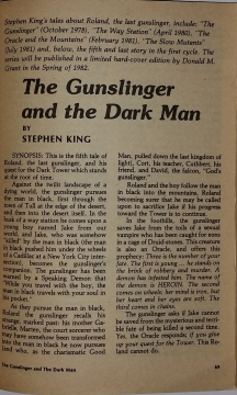 Fantasy & Science Fiction 11 1981 strona tytułowa noweli The Gunslinger and the Dark Man