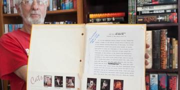 Odnaleziony manuskrypt The Cannibals... jest wydrukiem - obrazek