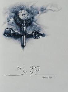 """The Shining"" - autograf Vincenta Chonga - obrazek"