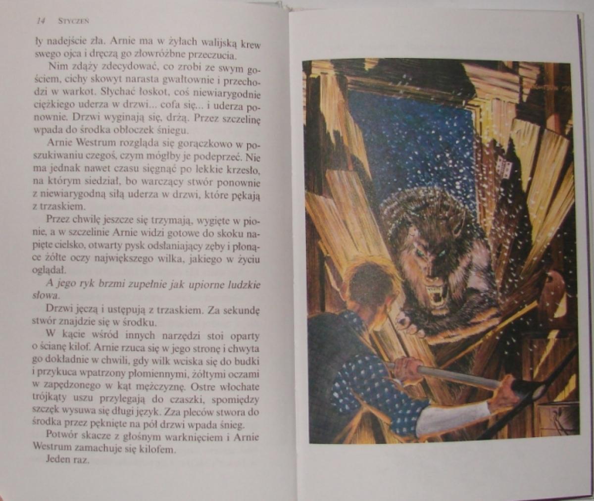 """Rok Wilkolaka"" - ilustracja Berni Wrightsona - obrazek"