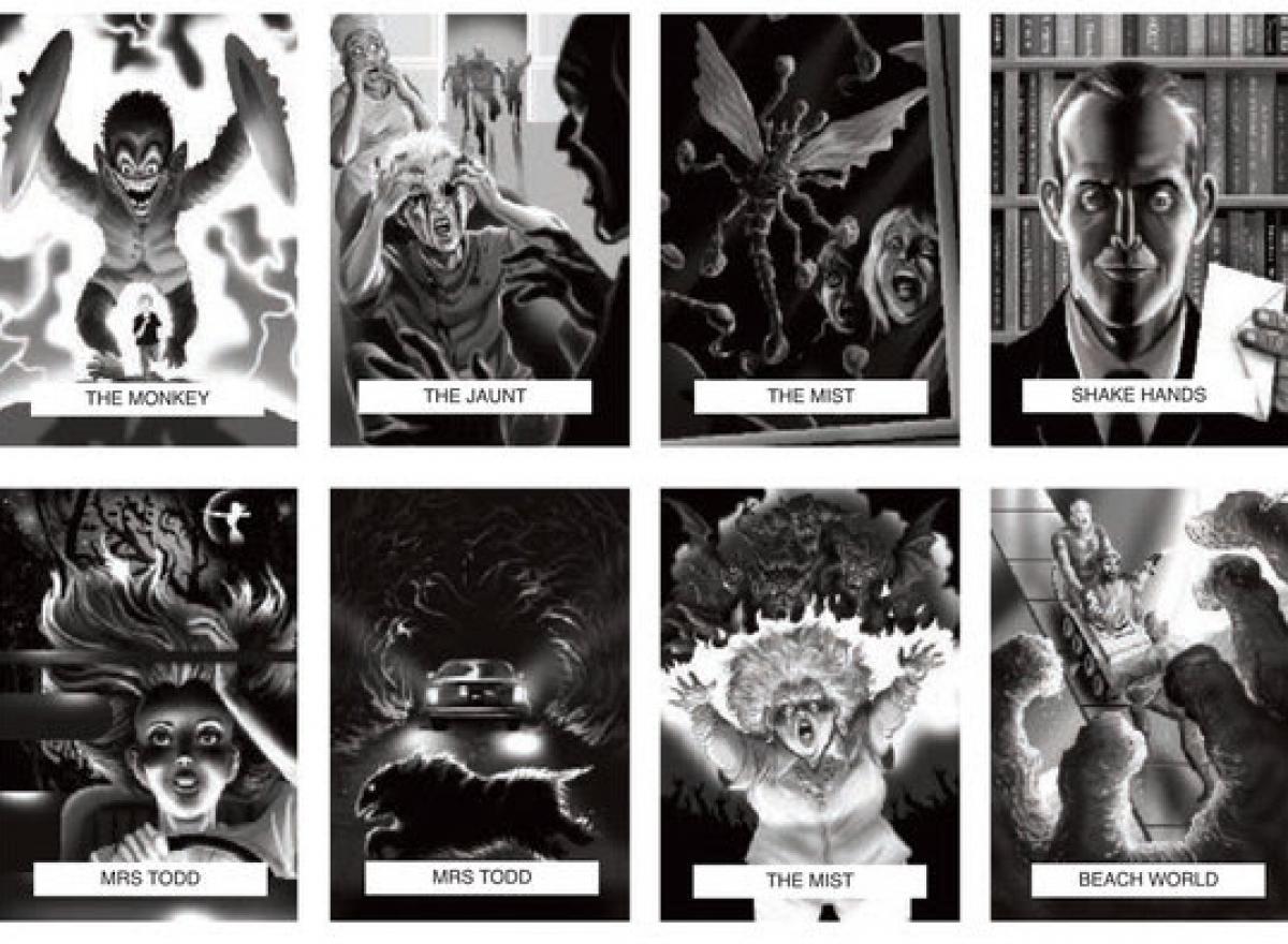 Skeleton Crew - PS Publishing - wizualizacje ilustracji 1 - obrazek