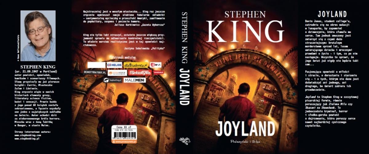 """""""Joyland"""" - cała okładka - obrazek"""