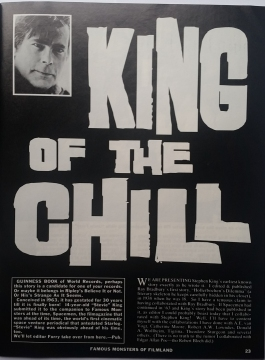 Famous Monsters of Filmland 1994 Spring 202 King of the Chill (1)