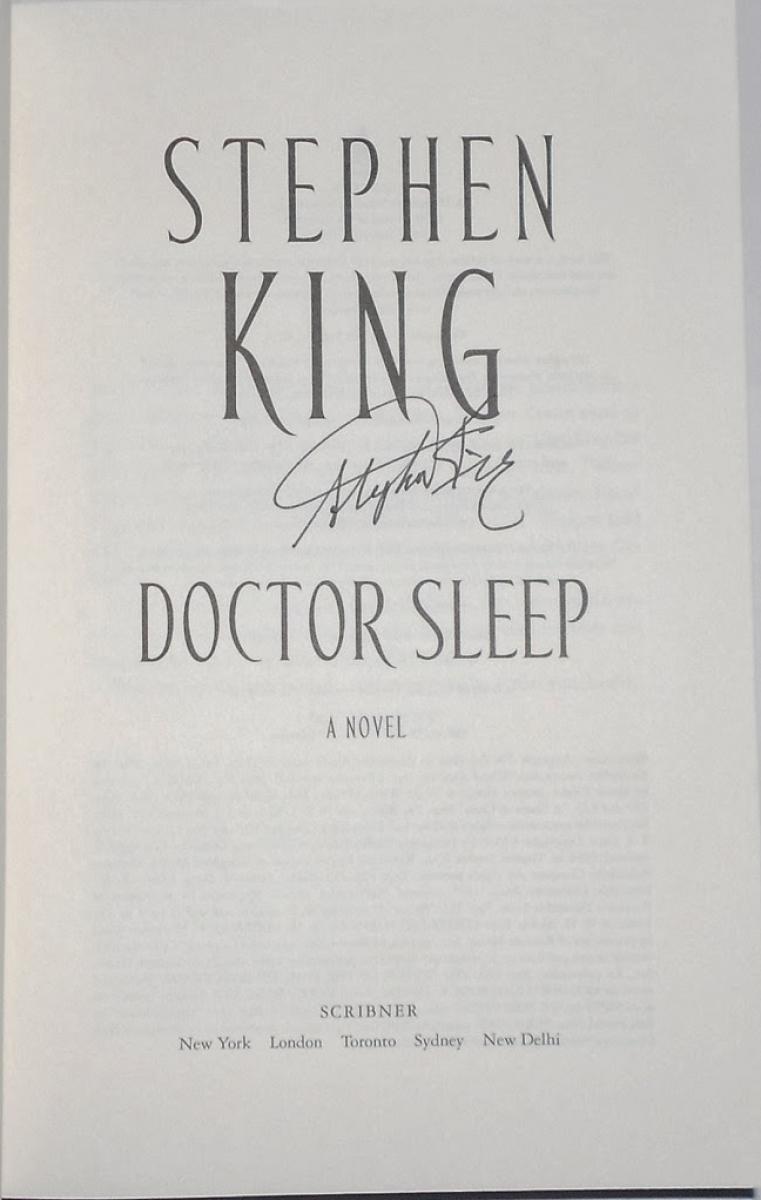 """""""Doctor Sleep"""" - autograf zdobyty w Paryżu - obrazek"""