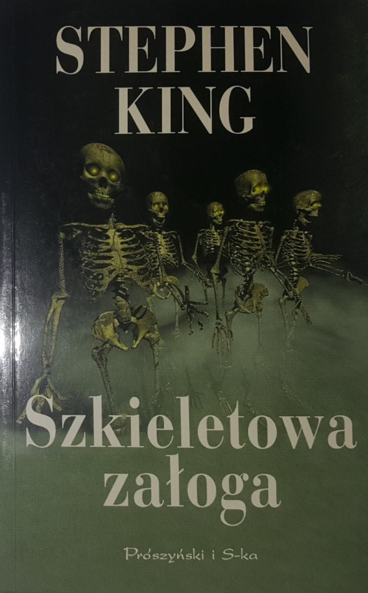 """""""Szkieletowa załoga"""" okładka wydania z 2000 roku - obrazek"""