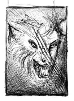 Cycle of the werewolf - sketch - obrazek