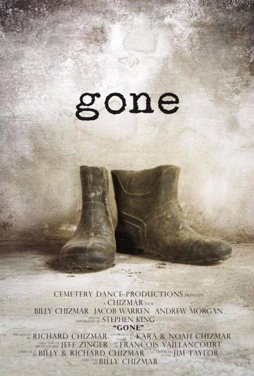 """""""Gone"""" - plakat filmu krótkometrażowego - obrazek"""