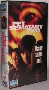 Smętarz dla zwierząt 2 (VHS)