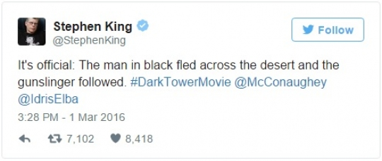 Stephen King o The Dark Tower