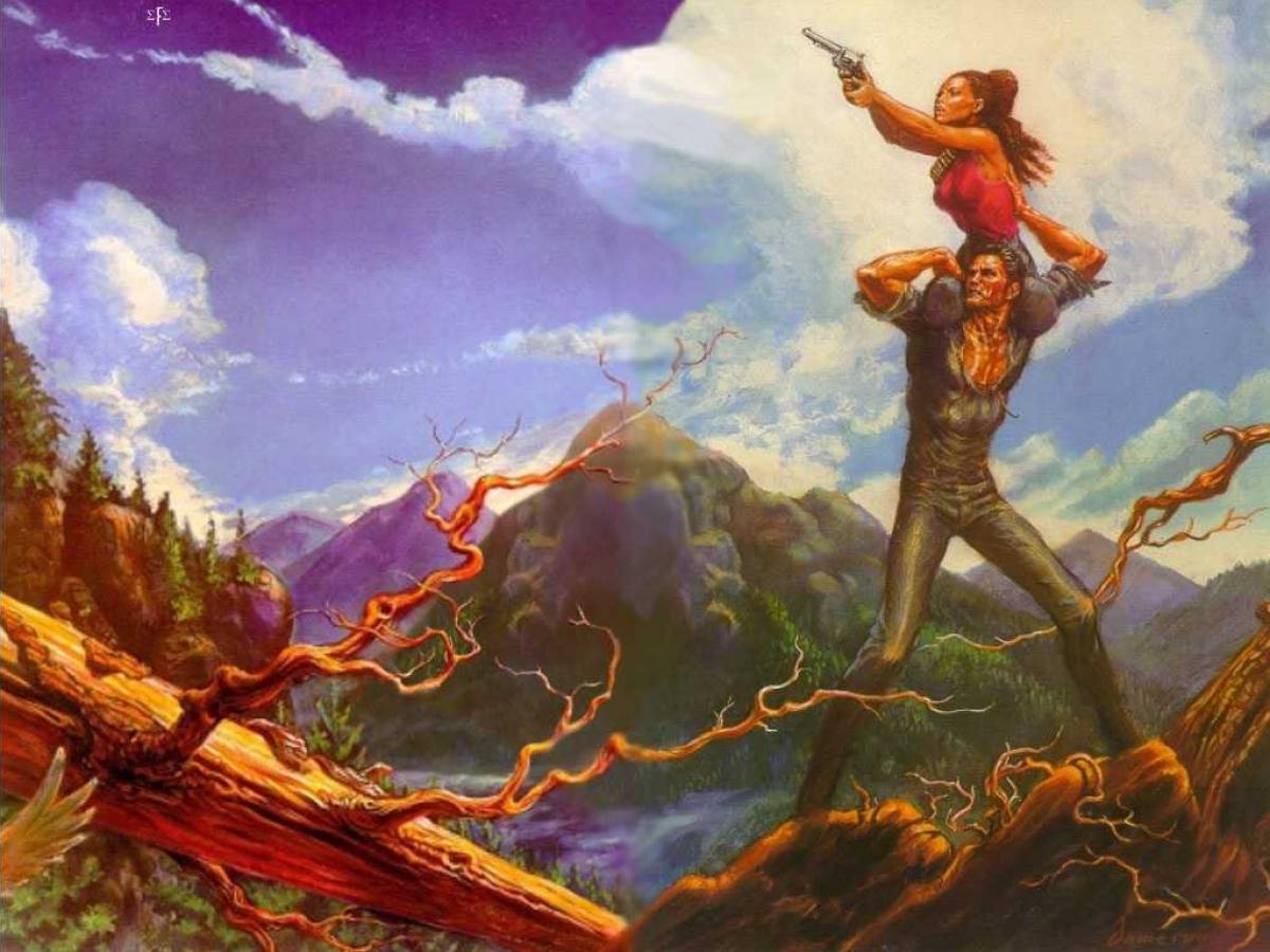 """The Dark Tower III: The Waste Lands"" - ilustracja Neda Damerona - obrazek"