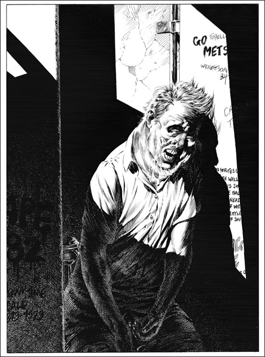 """The Stand Complete and Uncut"" - ilustracje Bernie Wrightsona - obrazek"