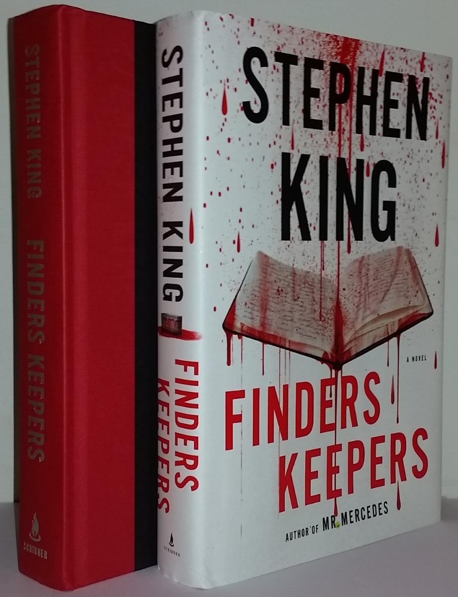 Finders Keepers (Scribner) - książka i obwoluta - obrazek