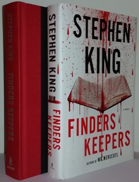 Finders Keepers (Scribner) - książka i obwoluta