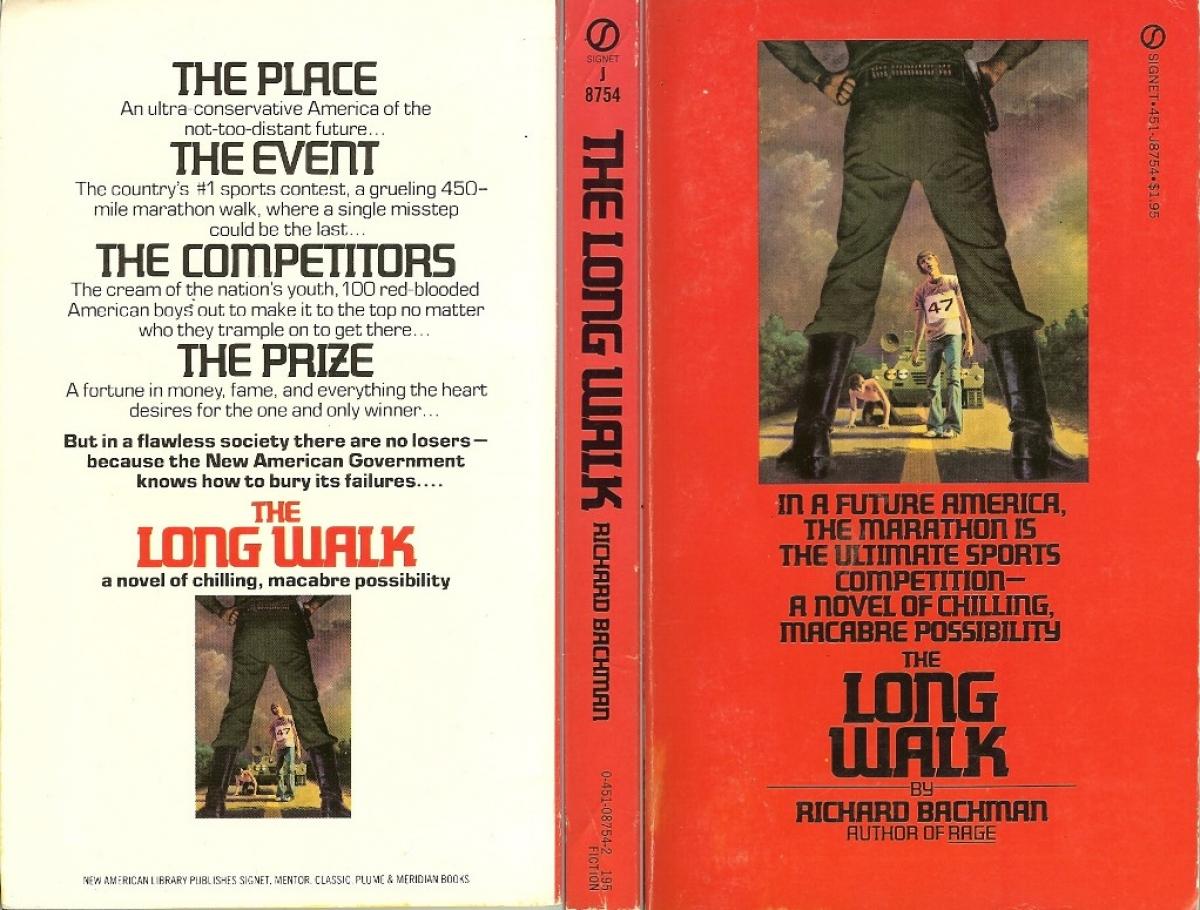 """""""The Long Walk"""" - okładka - obrazek"""