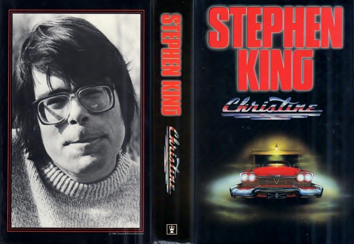 """Christine"" - obwoluta - obrazek"