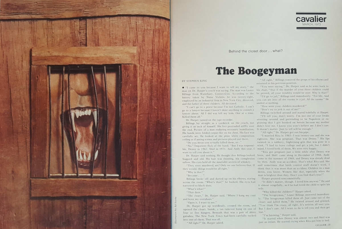"""Cavalier"" 3/1973 - ""The Boogeyman"" - obrazek"