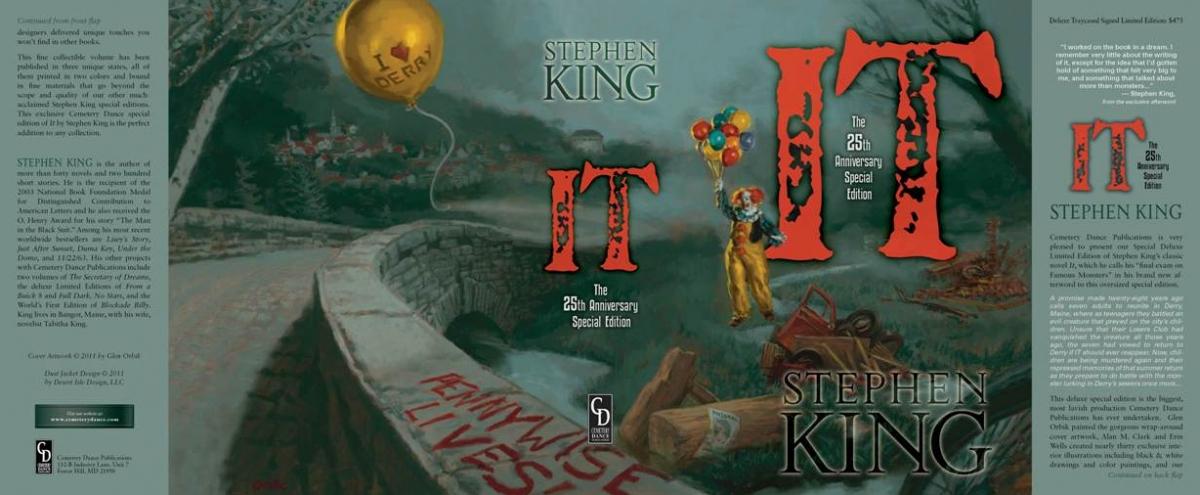 IT 25th Anniversary Edition Signed Edition - obwoluta - obrazek
