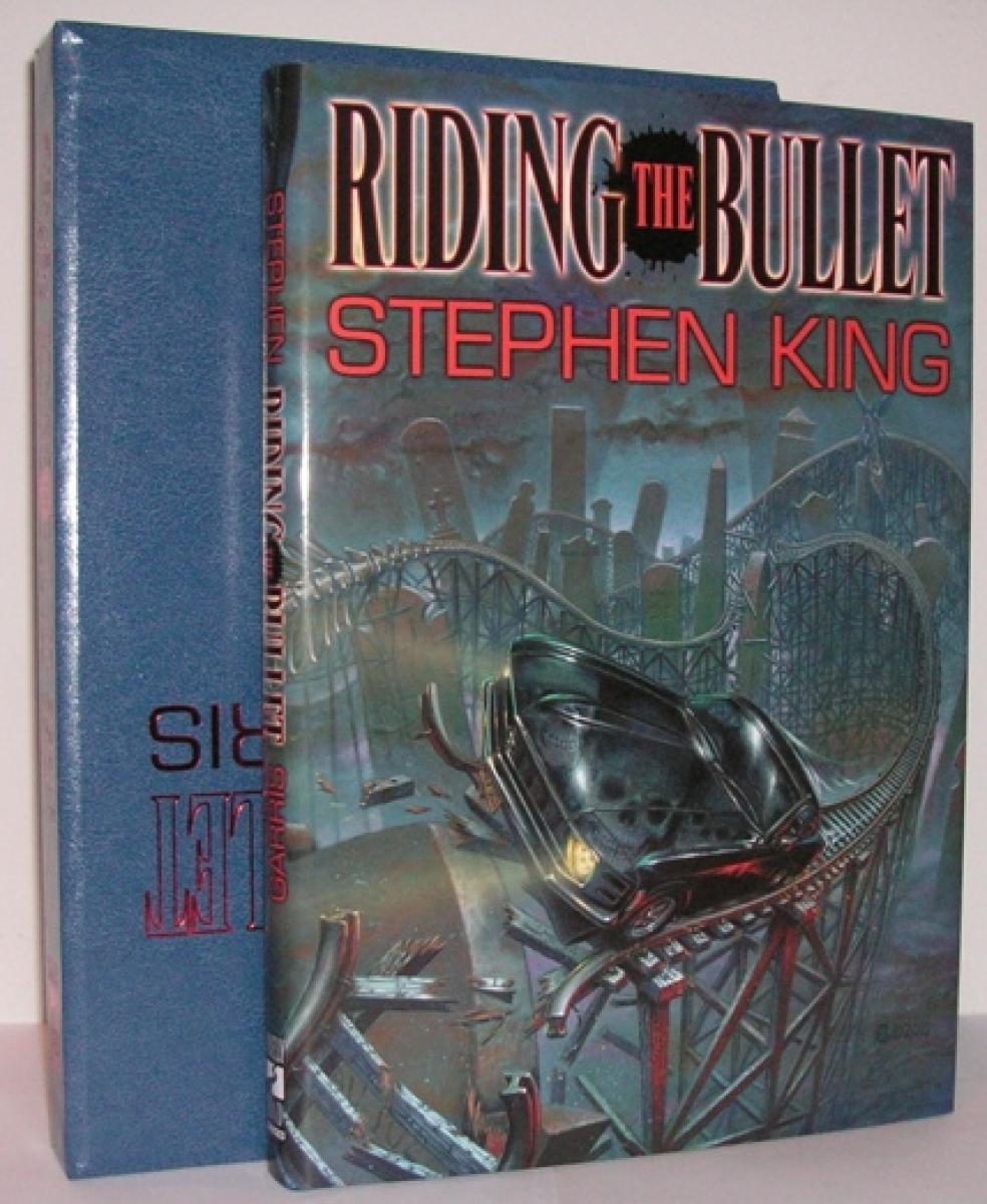 """Riding The Bullet"" - książka i etui - obrazek"