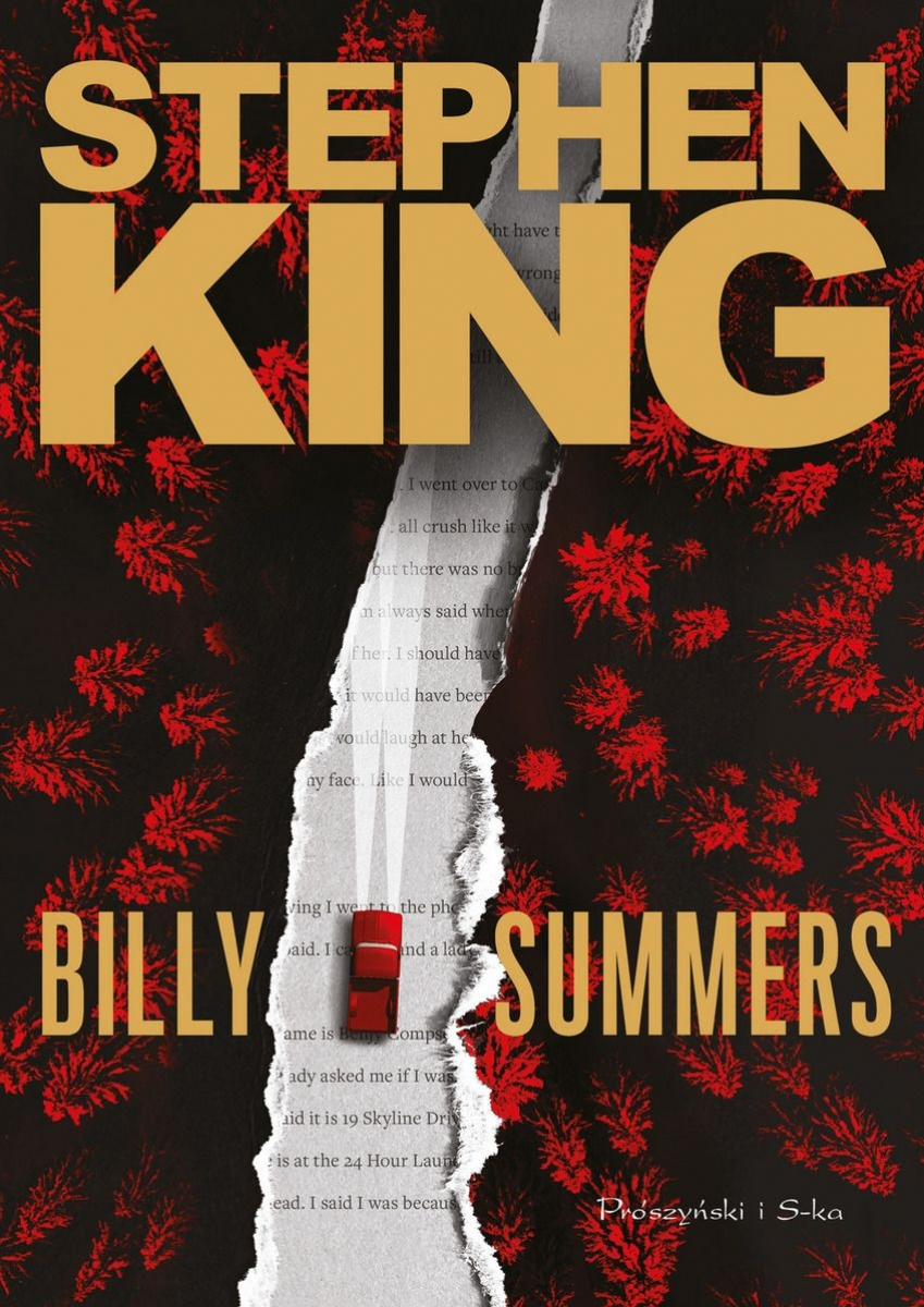 """""""Billy Summers"""" - okładka polskiego wydania - obrazek"""