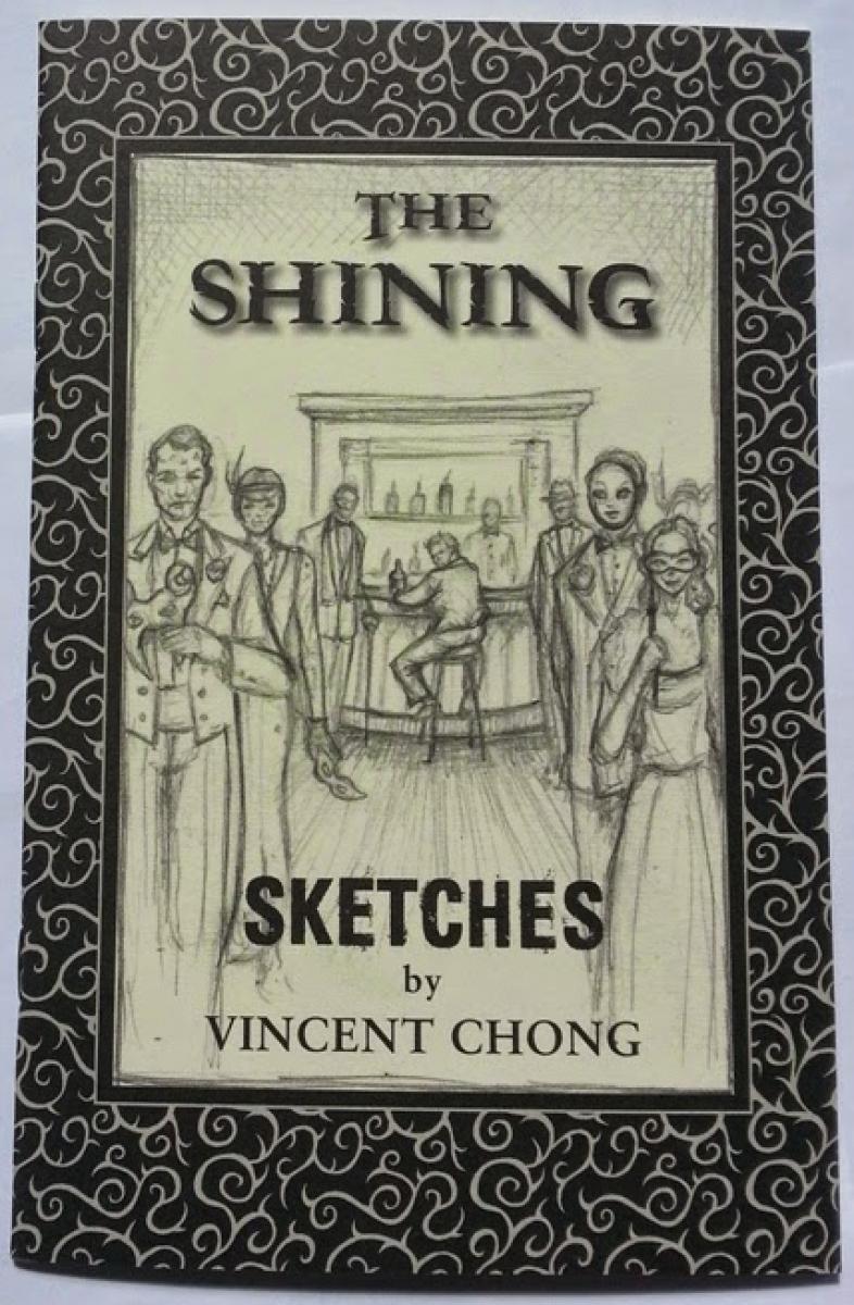 """The Shining"" -  chapbook ze szkicami Vincenta Chonga - obrazek"