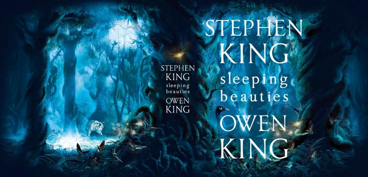 """""""Sleeping Beauties"""" - projekt całej okładki - obrazek"""