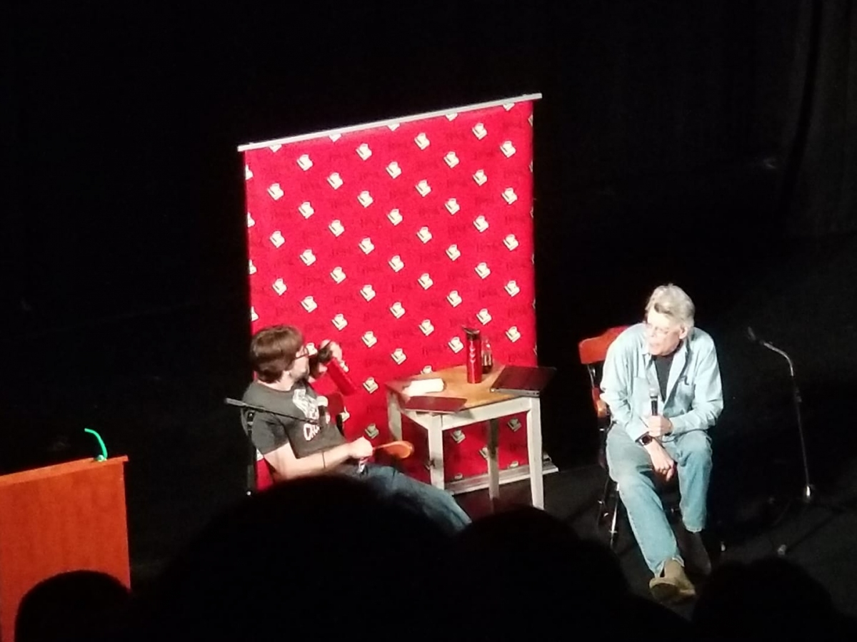 Spotkanie ze Stephenem Kingiem i Joe Hillem - obrazek