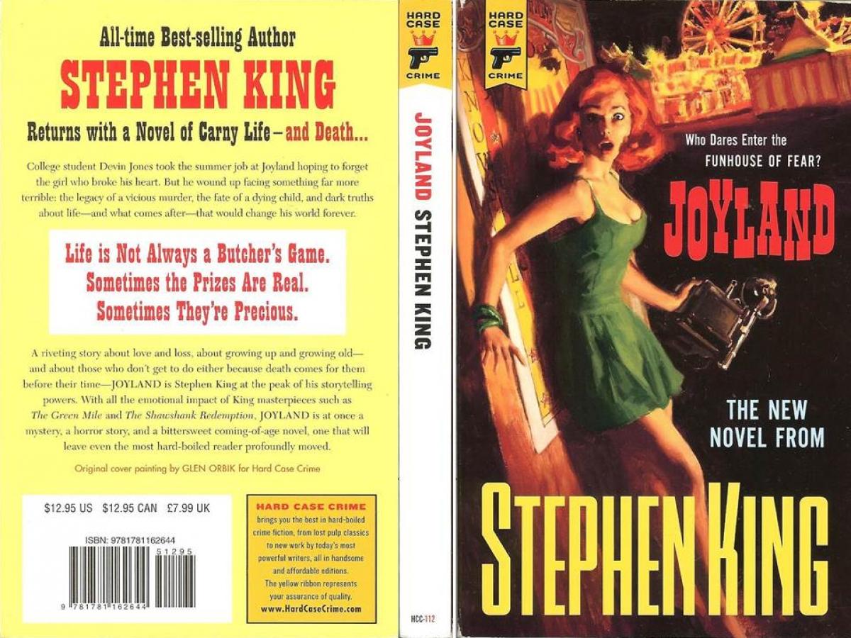 """""""Joyland"""" - okładka - obrazek"""