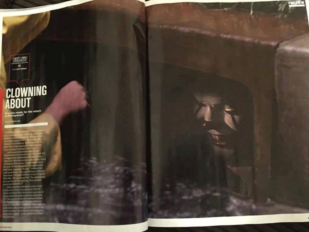 """Kadr z filmu """"To"""" w magazynie Empire - obrazek"""