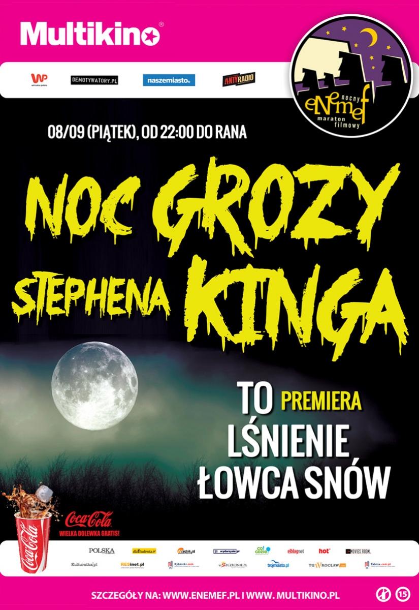 """Noc Grozy Stephena Kinga z premierą """"To"""" - obrazek"""