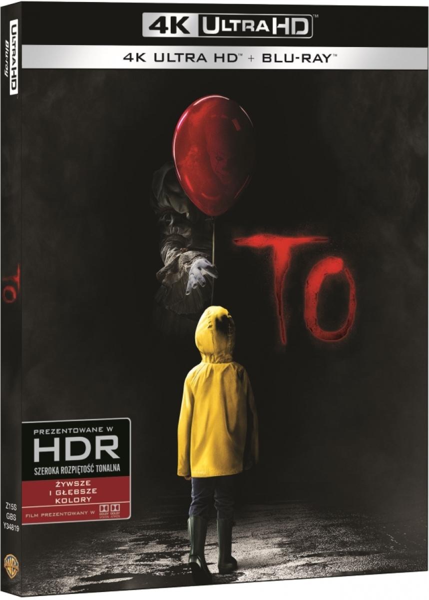 """To"" - okładka 4K UltraHD - obrazek"