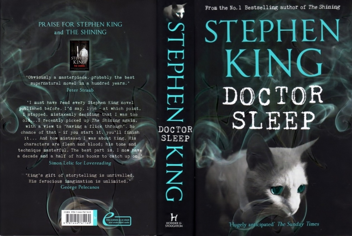 """""""Doctor Sleep"""" - obwoluta - obrazek"""