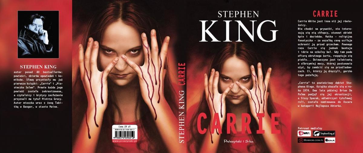 """""""Carrie"""" - cała okładka - obrazek"""