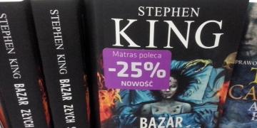Bazar złych snów w oprawie zintegrowanej w księgarni Matras - obrazek