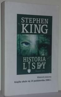 Historia Lisey - Prebook (Prószyński i S-ka)