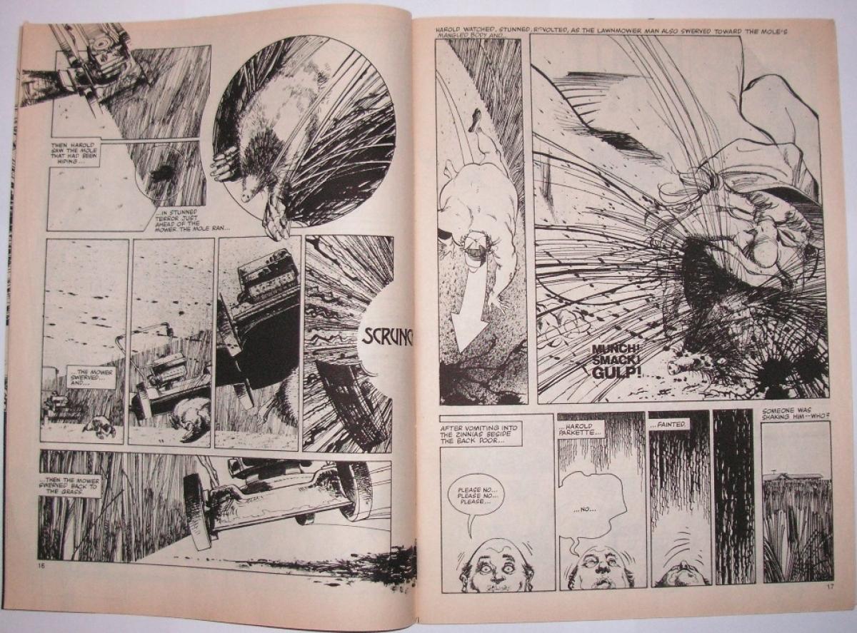 """""""The Lawnmover Man"""" - przykładowa plansza - obrazek"""