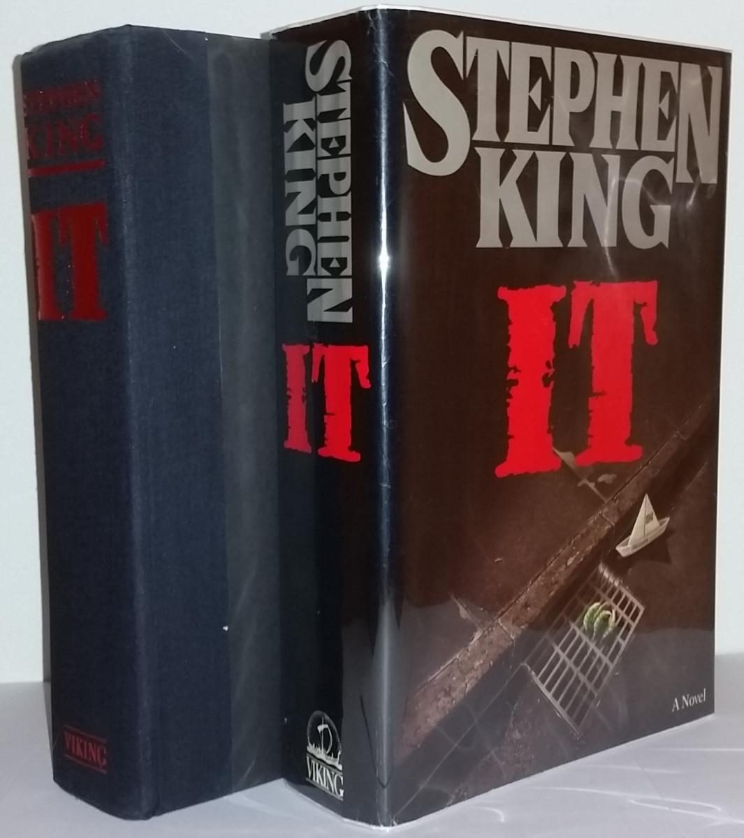 It (Viking) - książka i obwoluta - obrazek