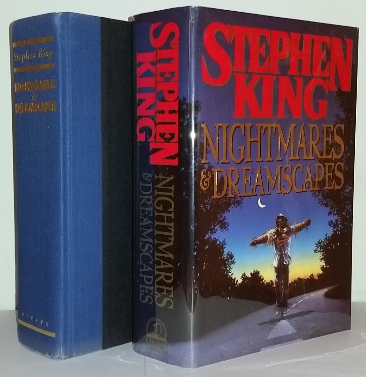 """""""Nightmares & Dreamscapes"""" - książka i obwoluta - obrazek"""