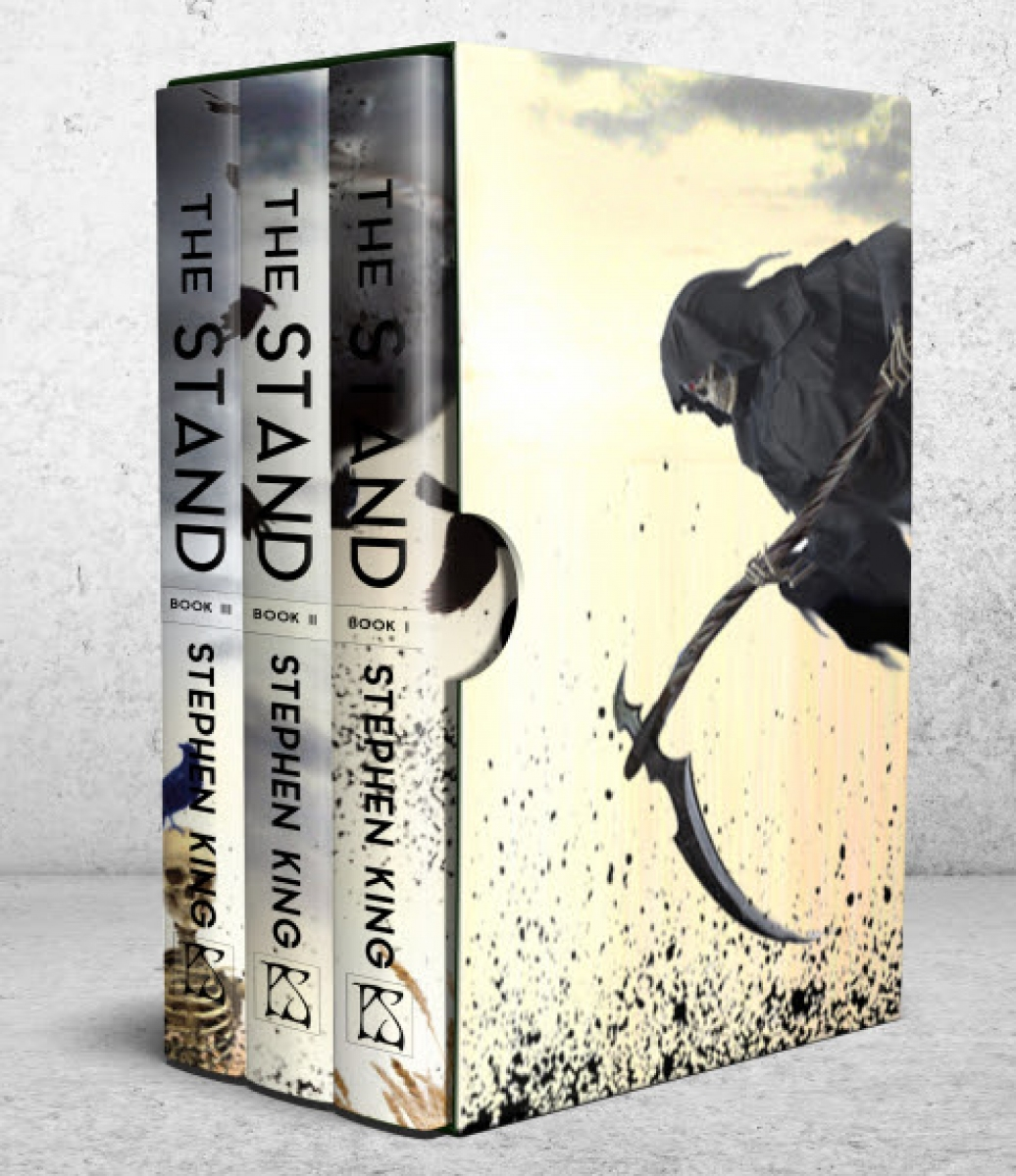 """""""The Stand"""" - wizualizacja książek w etui - obrazek"""