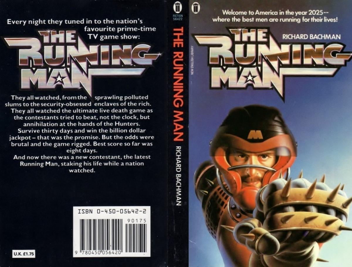 """The Running Man"" - okładka - obrazek"