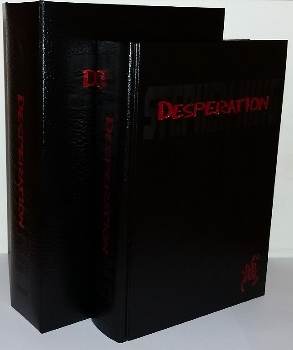 """""""Desperation"""" - pudełko i książka - obrazek"""