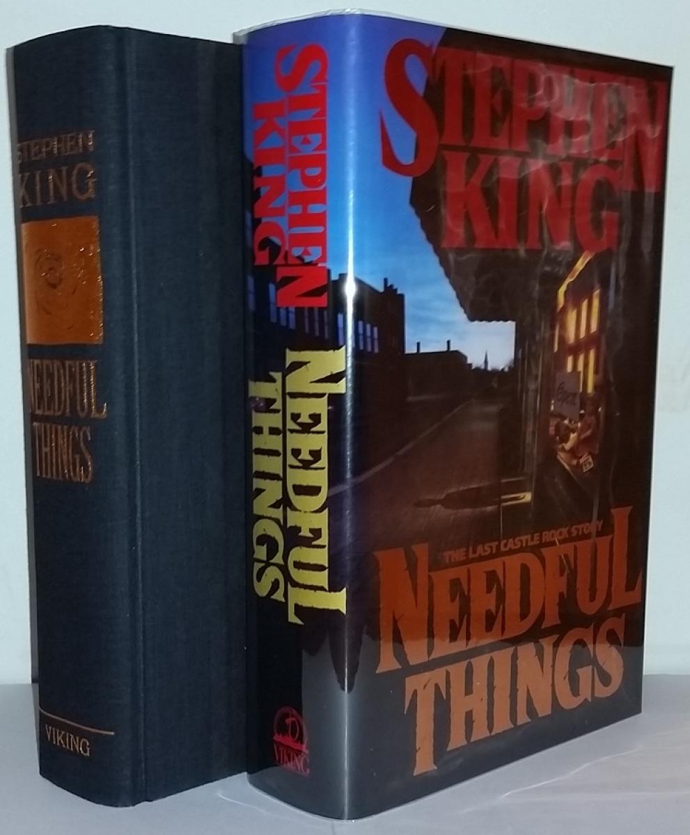 """""""Needful Things"""" - książka i obwoluta - obrazek"""
