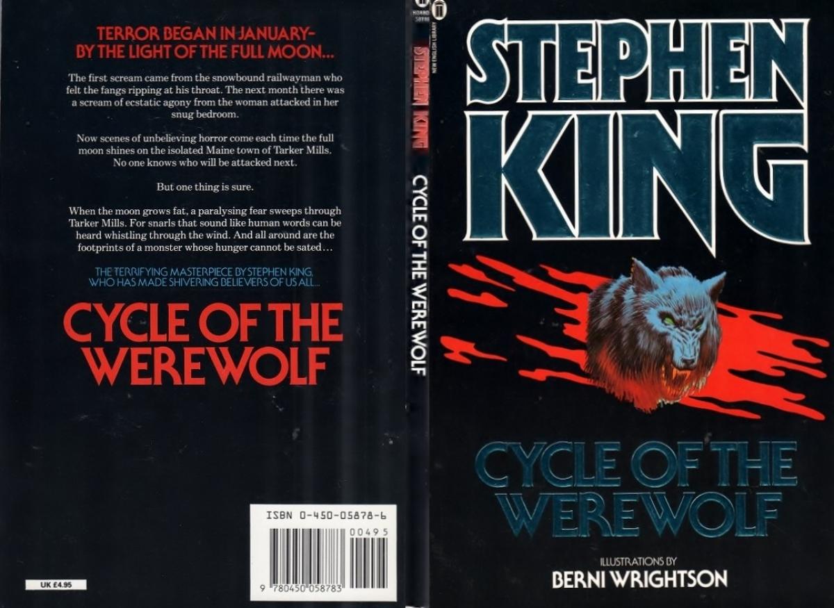 """Cycle Of The Werewolf"" - okładka - obrazek"