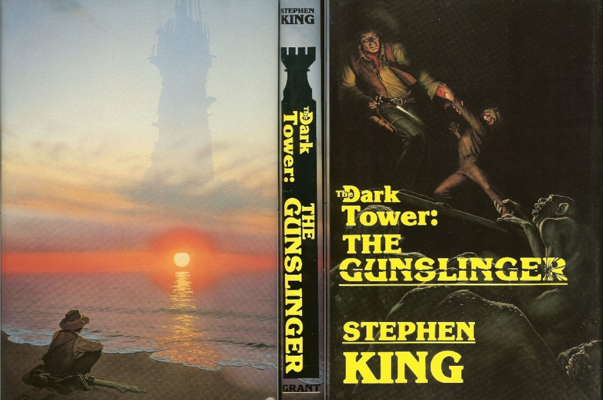 """The Dark Tower I: The Gunslinger"" - obwoluta - obrazek"