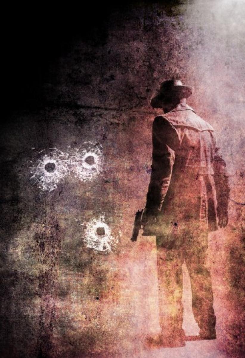 """""""Killer Crimes"""" - Cemetery Dance - projekt okładki - obrazek"""