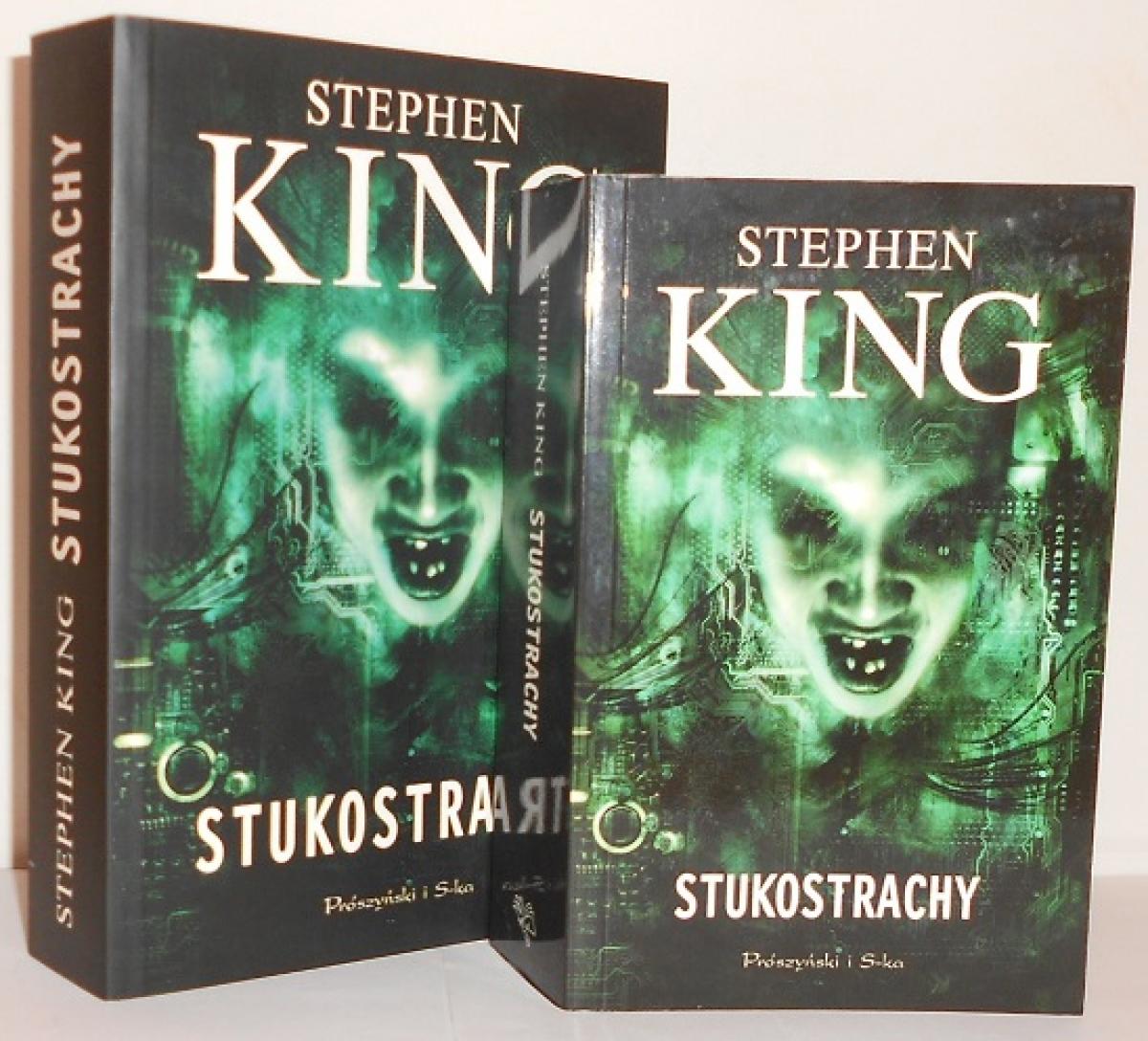"""""""Stukostrachy"""" - książka w wydaniu standardowym i kieszonkowym - obrazek"""