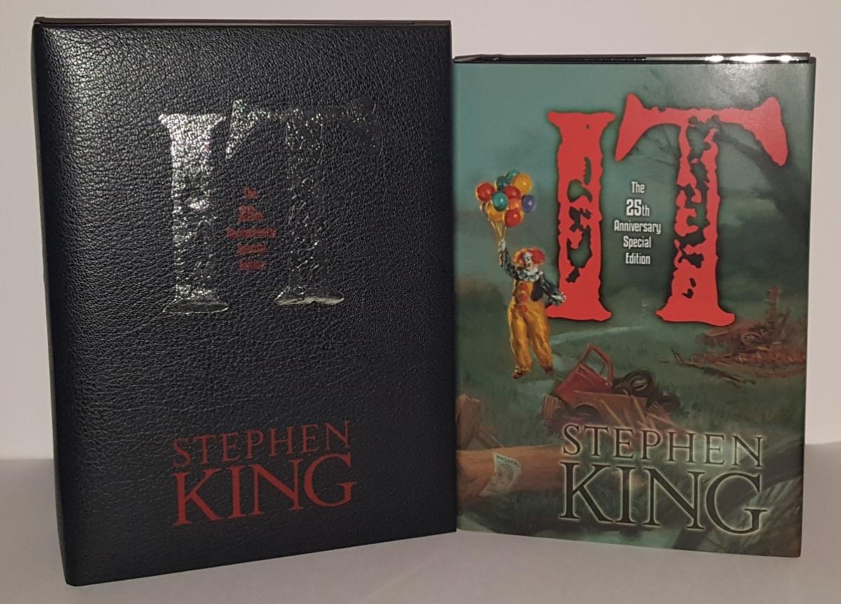 IT 25th Anniversary Edition (Cemetery Dance) Signed Edition - książka i pudełko - obrazek