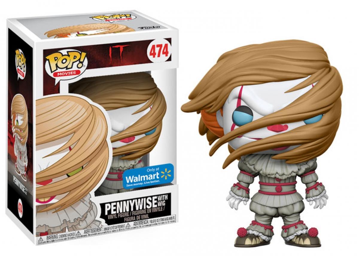 Funko - Pennywise with wig (edycja Walmart) - obrazek