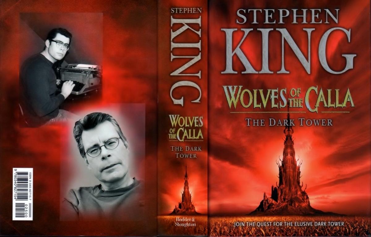 """The Dark Tower V Wolves of the Calla"" - obwoluta - obrazek"