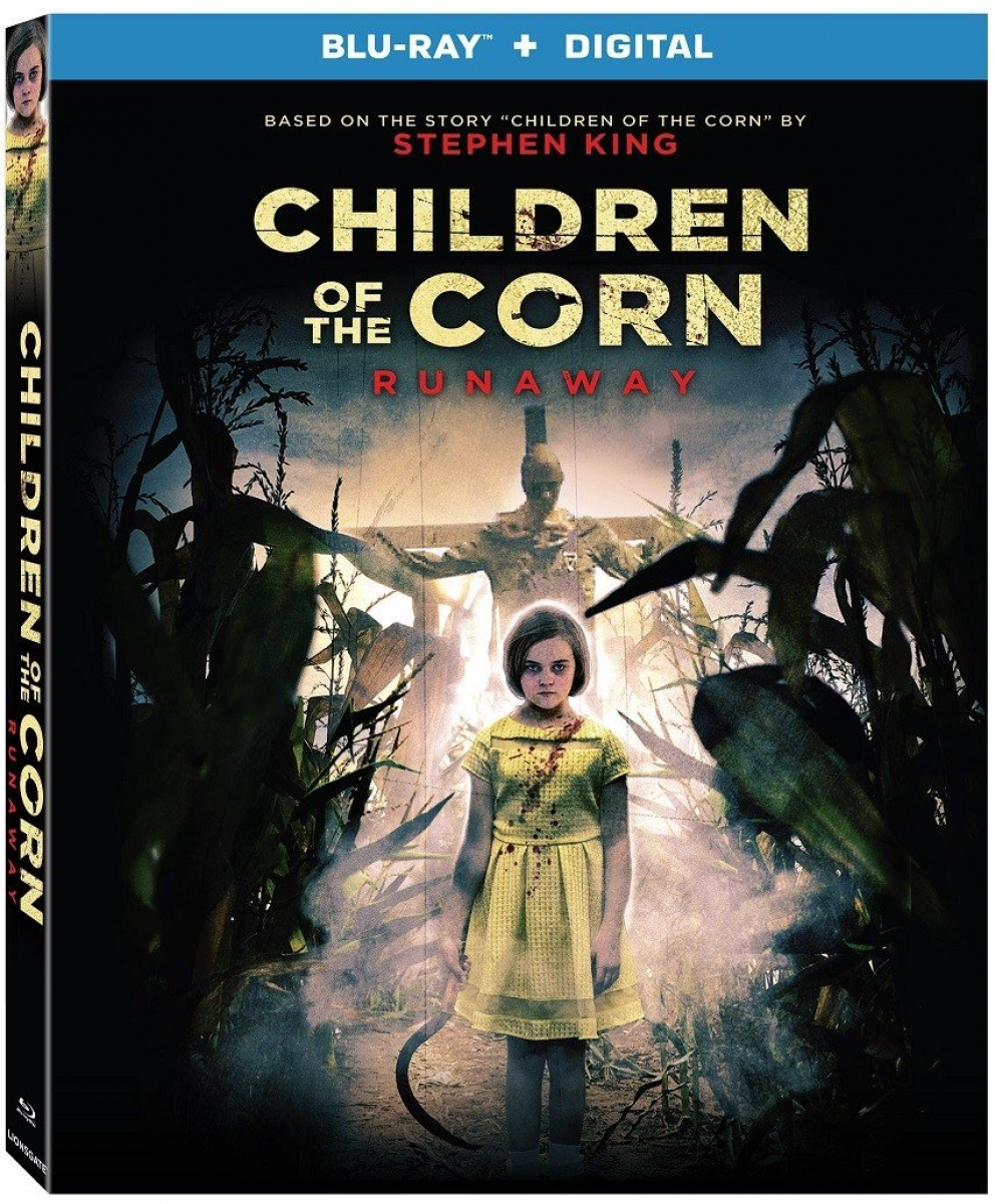 """Children of the Corn Runaway"" okładka Blu-Ray - obrazek"