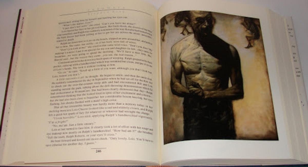 """""""Insomnia"""" - przykładowa ilustracja Phila Hale'a - obrazek"""